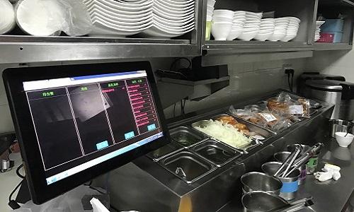 研华厨房显示系统,显著提高速食连锁店作业效率