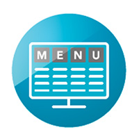内建多种菜单版型与样式